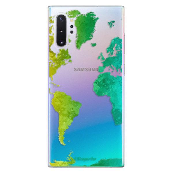 Plastové pouzdro iSaprio – Cold Map – Samsung Galaxy Note 10+ Plastové pouzdro iSaprio – Cold Map – Samsung Galaxy Note 10+
