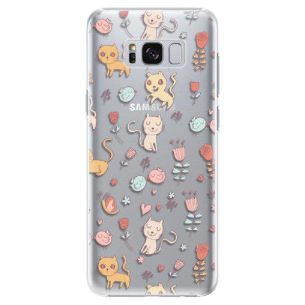 Plastové pouzdro iSaprio – Cat pattern 02 – Samsung Galaxy S8 Plus Plastové pouzdro iSaprio – Cat pattern 02 – Samsung Galaxy S8 Plus