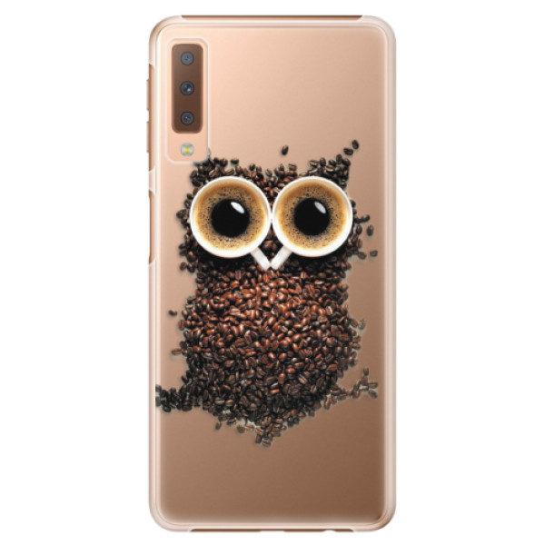 Plastové pouzdro iSaprio – Owl And Coffee – Samsung Galaxy A7 (2018) Plastové pouzdro iSaprio – Owl And Coffee – Samsung Galaxy A7 (2018)