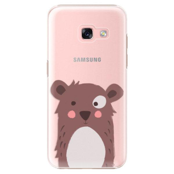 Plastové pouzdro iSaprio – Brown Bear – Samsung Galaxy A3 2017 Plastové pouzdro iSaprio – Brown Bear – Samsung Galaxy A3 2017