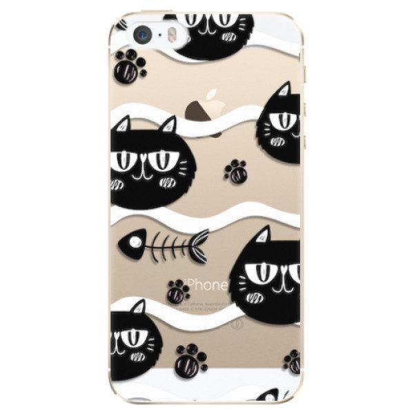 Plastové pouzdro iSaprio – Cat pattern 04 – iPhone 5/5S/SE Plastové pouzdro iSaprio – Cat pattern 04 – iPhone 5/5S/SE