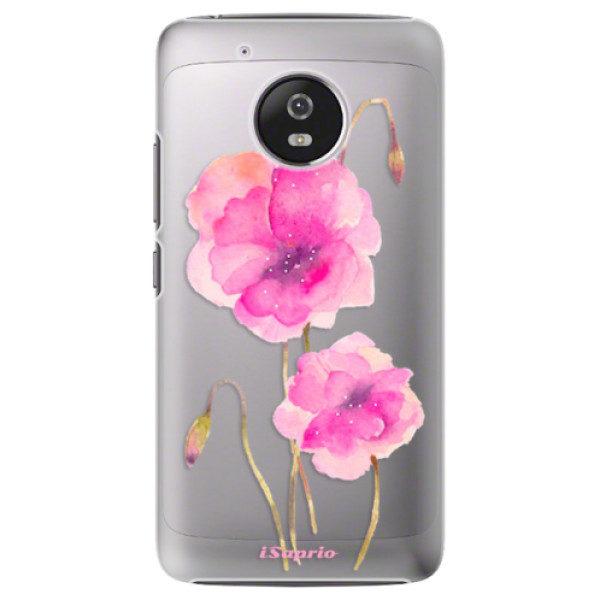 Plastové pouzdro iSaprio – Poppies 02 – Lenovo Moto G5 Plastové pouzdro iSaprio – Poppies 02 – Lenovo Moto G5