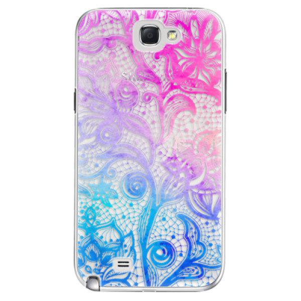 Plastové pouzdro iSaprio – Color Lace – Samsung Galaxy Note 2 Plastové pouzdro iSaprio – Color Lace – Samsung Galaxy Note 2