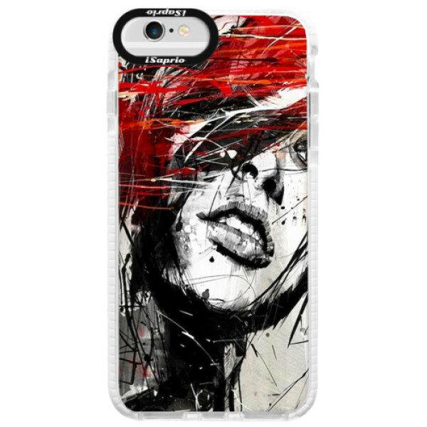 Silikonové pouzdro Bumper iSaprio – Sketch Face – iPhone 6/6S Silikonové pouzdro Bumper iSaprio – Sketch Face – iPhone 6/6S