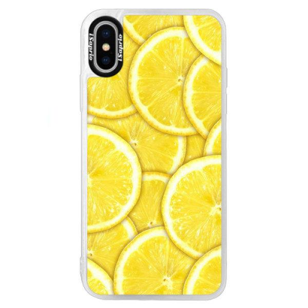Neonové pouzdro Blue iSaprio – Yellow – iPhone X Neonové pouzdro Blue iSaprio – Yellow – iPhone X