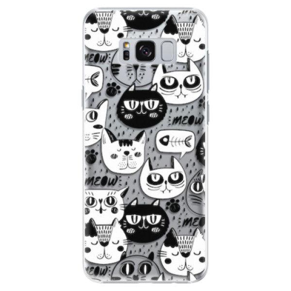 Plastové pouzdro iSaprio – Cat pattern 03 – Samsung Galaxy S8 Plus Plastové pouzdro iSaprio – Cat pattern 03 – Samsung Galaxy S8 Plus
