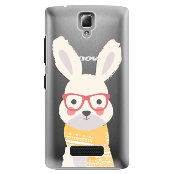 Plastové pouzdro iSaprio – Smart Rabbit – Lenovo A2010 Plastové pouzdro iSaprio – Smart Rabbit – Lenovo A2010