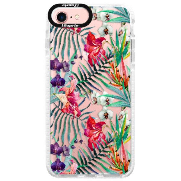 Silikonové pouzdro Bumper iSaprio – Flower Pattern 03 – iPhone 7 Silikonové pouzdro Bumper iSaprio – Flower Pattern 03 – iPhone 7