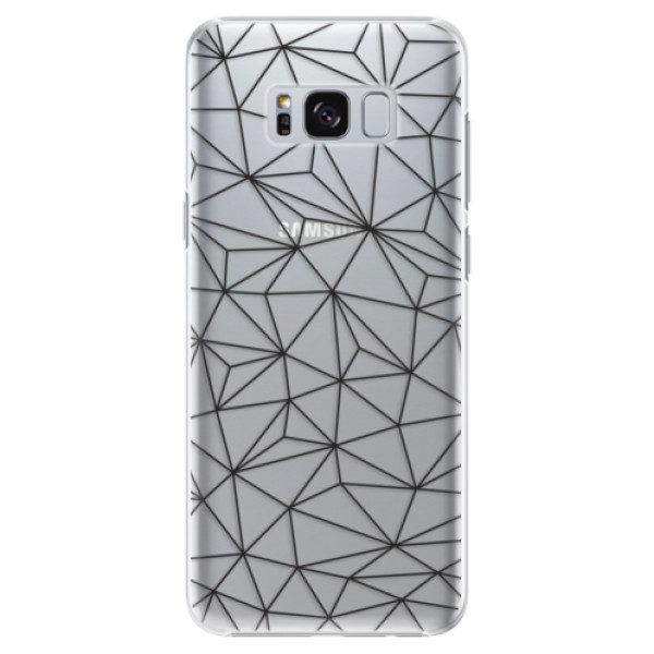 Plastové pouzdro iSaprio – Abstract Triangles 03 – black – Samsung Galaxy S8 Plus Plastové pouzdro iSaprio – Abstract Triangles 03 – black – Samsung Galaxy S8 Plus
