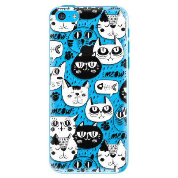 Plastové pouzdro iSaprio – Cat pattern 03 – iPhone 5C Plastové pouzdro iSaprio – Cat pattern 03 – iPhone 5C