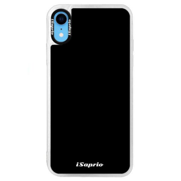 Neonové pouzdro Blue iSaprio – 4Pure – černý – iPhone XR Neonové pouzdro Blue iSaprio – 4Pure – černý – iPhone XR