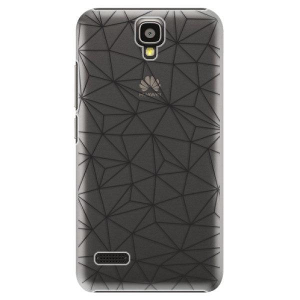 Plastové pouzdro iSaprio – Abstract Triangles 03 – black – Huawei Ascend Y5 Plastové pouzdro iSaprio – Abstract Triangles 03 – black – Huawei Ascend Y5