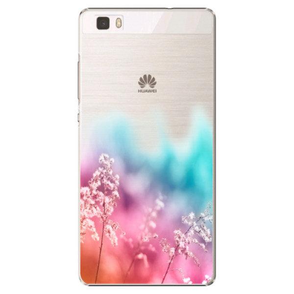 Plastové pouzdro iSaprio – Rainbow Grass – Huawei Ascend P8 Lite Plastové pouzdro iSaprio – Rainbow Grass – Huawei Ascend P8 Lite