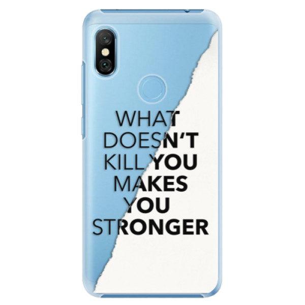 Plastové pouzdro iSaprio – Makes You Stronger – Xiaomi Redmi Note 6 Pro Plastové pouzdro iSaprio – Makes You Stronger – Xiaomi Redmi Note 6 Pro