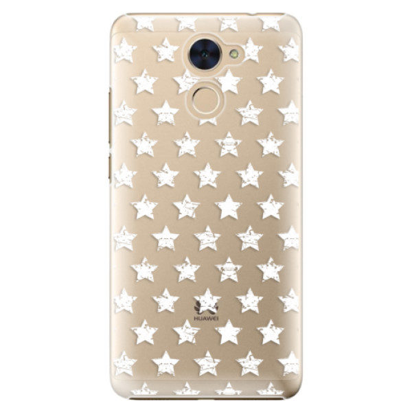 Plastové pouzdro iSaprio – Stars Pattern – white – Huawei Y7 / Y7 Prime Plastové pouzdro iSaprio – Stars Pattern – white – Huawei Y7 / Y7 Prime