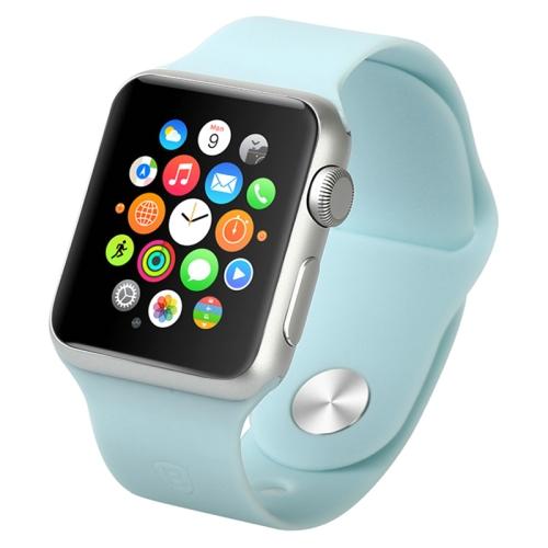 Gumový pásek / řemínek Baseus Fresh pro Apple Watch 42mm modrý Gumový pásek / řemínek Baseus Fresh pro Apple Watch 42mm modrý