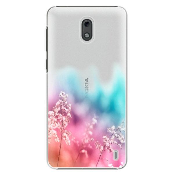Plastové pouzdro iSaprio – Rainbow Grass – Nokia 2 Plastové pouzdro iSaprio – Rainbow Grass – Nokia 2