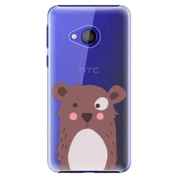 Plastové pouzdro iSaprio – Brown Bear – HTC U Play Plastové pouzdro iSaprio – Brown Bear – HTC U Play