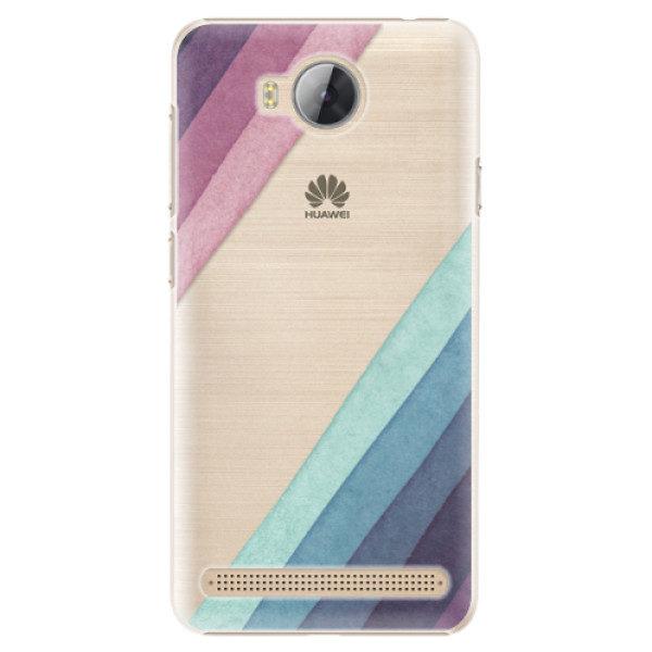 Plastové pouzdro iSaprio – Glitter Stripes 01 – Huawei Y3 II Plastové pouzdro iSaprio – Glitter Stripes 01 – Huawei Y3 II