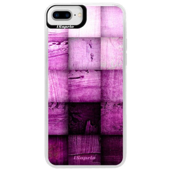Neonové pouzdro Blue iSaprio – Purple Squares – iPhone 7 Plus Neonové pouzdro Blue iSaprio – Purple Squares – iPhone 7 Plus