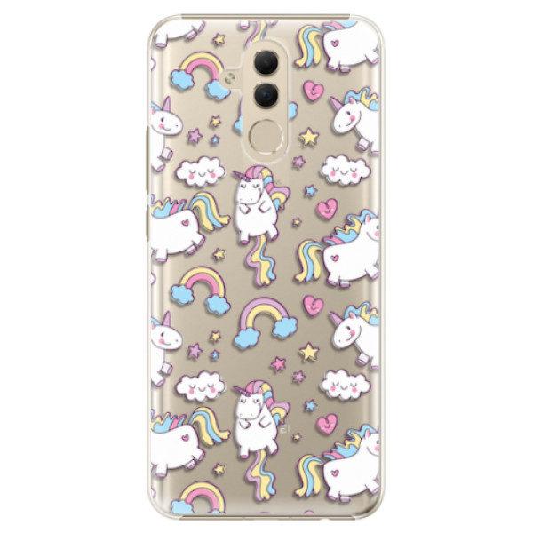 Plastové pouzdro iSaprio – Unicorn pattern 02 – Huawei Mate 20 Lite Plastové pouzdro iSaprio – Unicorn pattern 02 – Huawei Mate 20 Lite