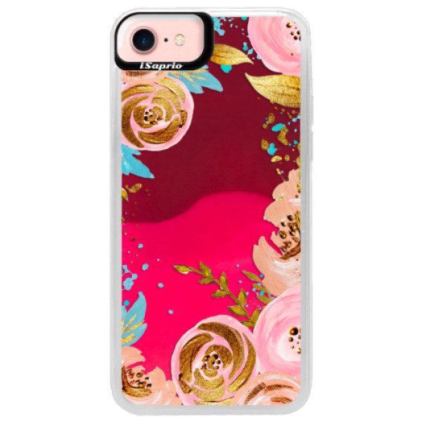 Neonové pouzdro Pink iSaprio – Golden Youth – iPhone 7 Neonové pouzdro Pink iSaprio – Golden Youth – iPhone 7