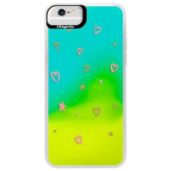 Neonové pouzdro Blue iSaprio – Lovely Pattern – iPhone 6 Plus/6S Plus Neonové pouzdro Blue iSaprio – Lovely Pattern – iPhone 6 Plus/6S Plus