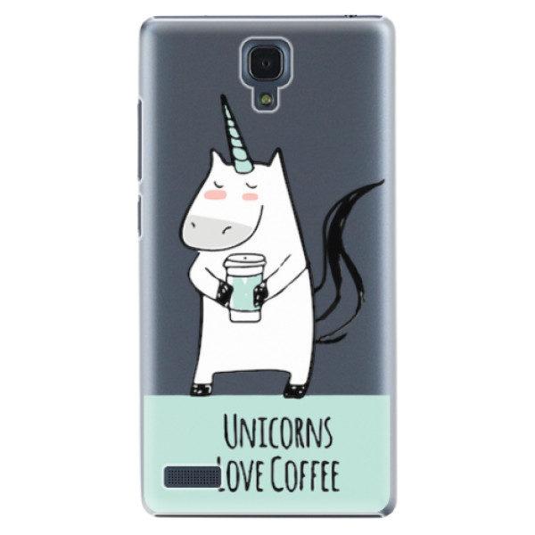 Plastové pouzdro iSaprio – Unicorns Love Coffee – Xiaomi Redmi Note Plastové pouzdro iSaprio – Unicorns Love Coffee – Xiaomi Redmi Note