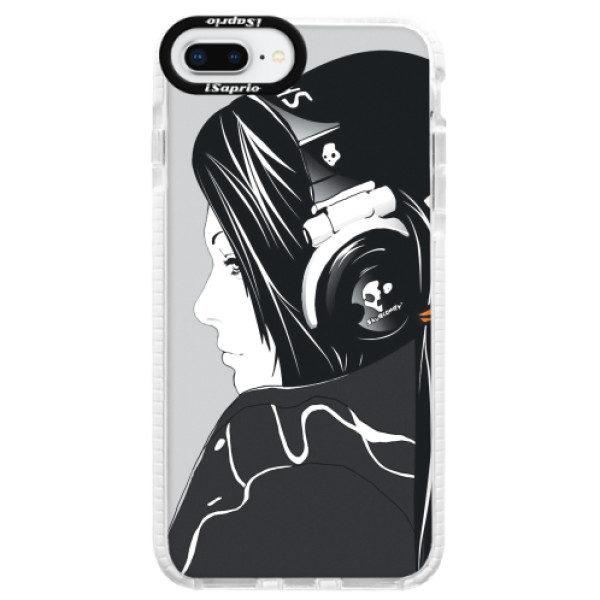 Silikonové pouzdro Bumper iSaprio – Headphones – iPhone 8 Plus Silikonové pouzdro Bumper iSaprio – Headphones – iPhone 8 Plus