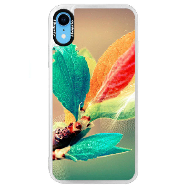 Neonové pouzdro Blue iSaprio – Autumn 02 – iPhone XR Neonové pouzdro Blue iSaprio – Autumn 02 – iPhone XR