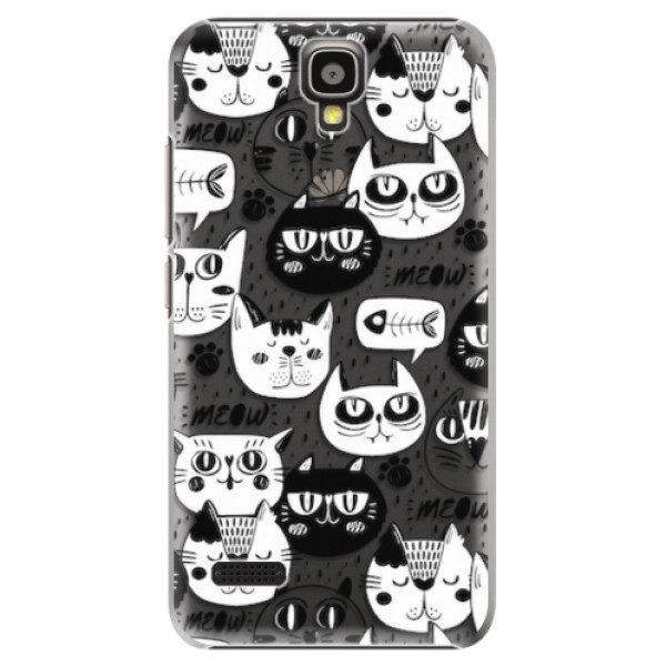 Plastové pouzdro iSaprio – Cat pattern 03 – Huawei Ascend Y5 Plastové pouzdro iSaprio – Cat pattern 03 – Huawei Ascend Y5