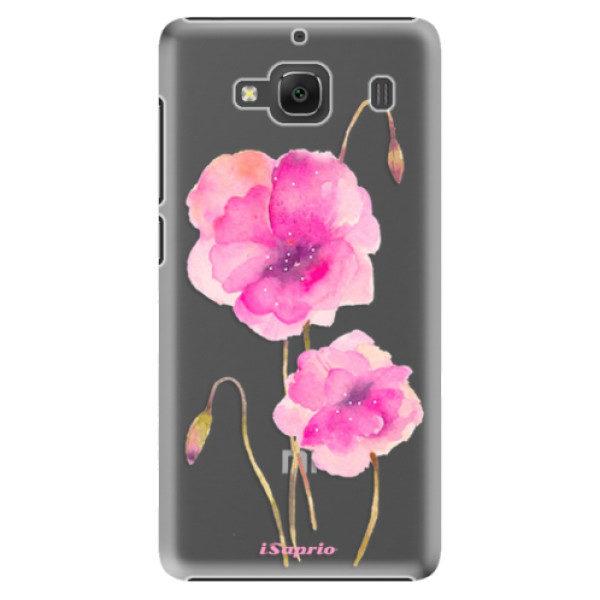 Plastové pouzdro iSaprio – Poppies 02 – Xiaomi Redmi 2 Plastové pouzdro iSaprio – Poppies 02 – Xiaomi Redmi 2