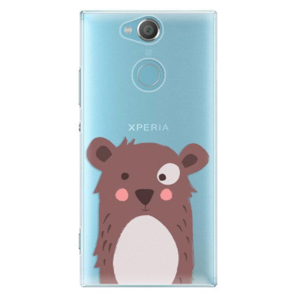 Plastové pouzdro iSaprio – Brown Bear – Sony Xperia XA2 Plastové pouzdro iSaprio – Brown Bear – Sony Xperia XA2