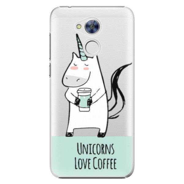 Plastové pouzdro iSaprio – Unicorns Love Coffee – Huawei Honor 6A Plastové pouzdro iSaprio – Unicorns Love Coffee – Huawei Honor 6A