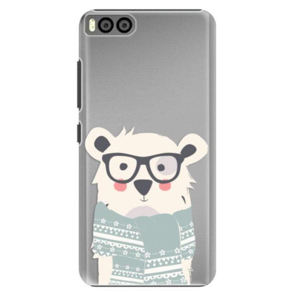 Plastové pouzdro iSaprio – Bear with Scarf – Xiaomi Mi6 Plastové pouzdro iSaprio – Bear with Scarf – Xiaomi Mi6