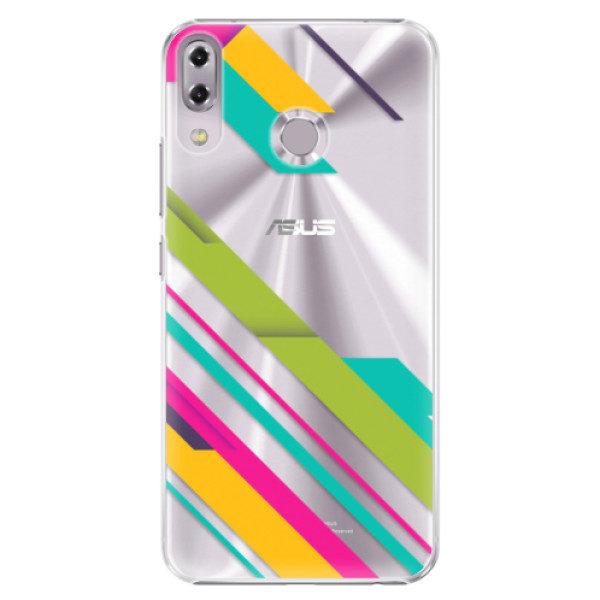 Plastové pouzdro iSaprio – Color Stripes 03 – Asus ZenFone 5 ZE620KL Plastové pouzdro iSaprio – Color Stripes 03 – Asus ZenFone 5 ZE620KL