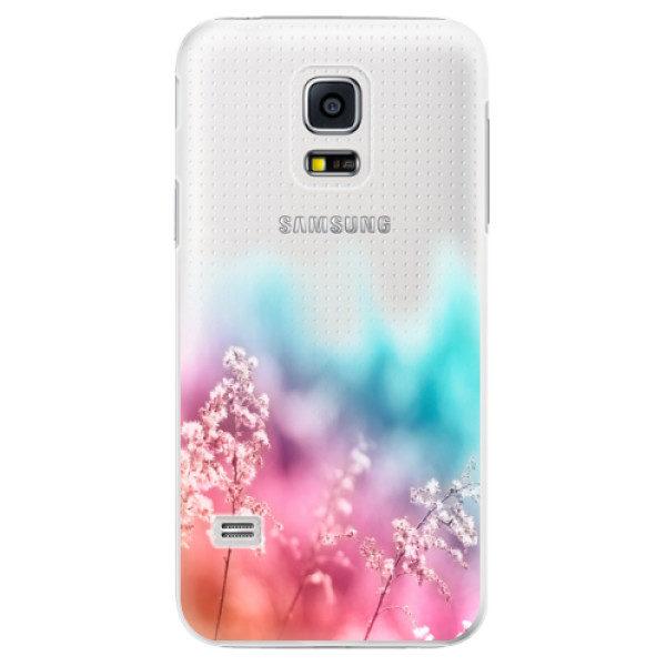 Plastové pouzdro iSaprio – Rainbow Grass – Samsung Galaxy S5 Mini Plastové pouzdro iSaprio – Rainbow Grass – Samsung Galaxy S5 Mini