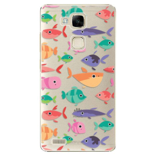 Plastové pouzdro iSaprio – Fish pattern 01 – Huawei Ascend Mate7 Plastové pouzdro iSaprio – Fish pattern 01 – Huawei Ascend Mate7