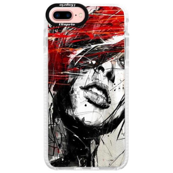 Silikonové pouzdro Bumper iSaprio – Sketch Face – iPhone 7 Plus Silikonové pouzdro Bumper iSaprio – Sketch Face – iPhone 7 Plus