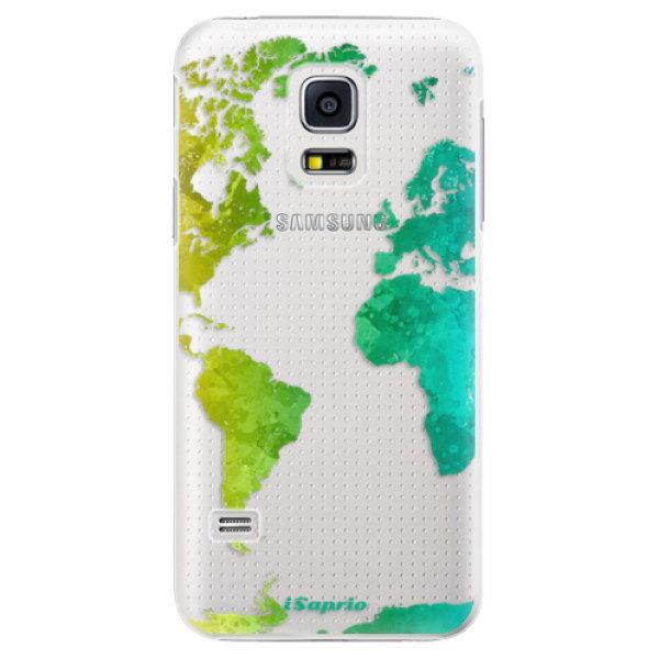 Plastové pouzdro iSaprio – Cold Map – Samsung Galaxy S5 Mini Plastové pouzdro iSaprio – Cold Map – Samsung Galaxy S5 Mini