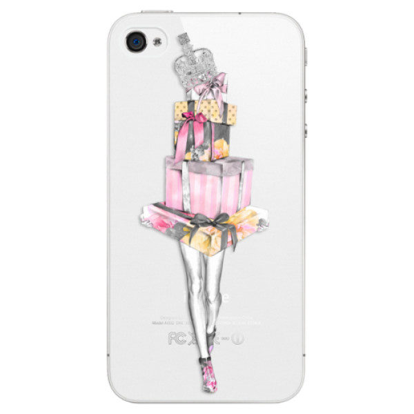 Plastové pouzdro iSaprio – Queen of Shopping – iPhone 4/4S Plastové pouzdro iSaprio – Queen of Shopping – iPhone 4/4S