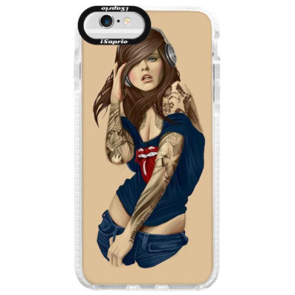 Silikonové pouzdro Bumper iSaprio – Girl 03 – iPhone 6/6S Silikonové pouzdro Bumper iSaprio – Girl 03 – iPhone 6/6S