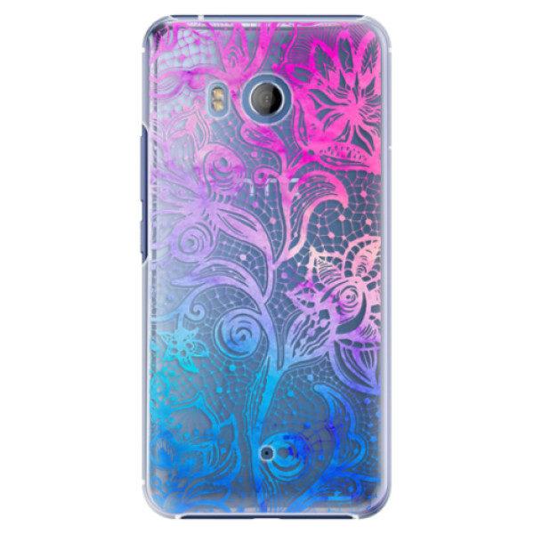 Plastové pouzdro iSaprio – Color Lace – HTC U11 Plastové pouzdro iSaprio – Color Lace – HTC U11
