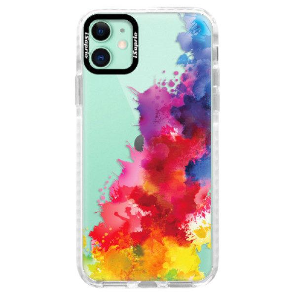 Silikonové pouzdro Bumper iSaprio – Color Splash 01 – iPhone 11 Silikonové pouzdro Bumper iSaprio – Color Splash 01 – iPhone 11
