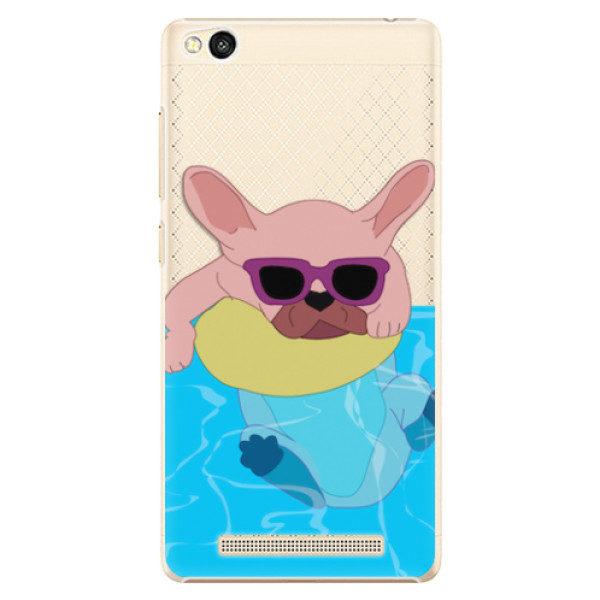 Plastové pouzdro iSaprio – Swimming Dog – Xiaomi Redmi 3 Plastové pouzdro iSaprio – Swimming Dog – Xiaomi Redmi 3