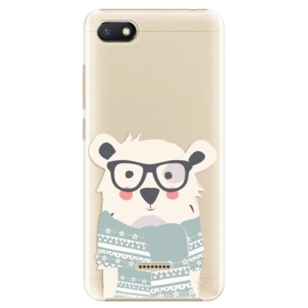 Plastové pouzdro iSaprio – Bear with Scarf – Xiaomi Redmi 6A Plastové pouzdro iSaprio – Bear with Scarf – Xiaomi Redmi 6A