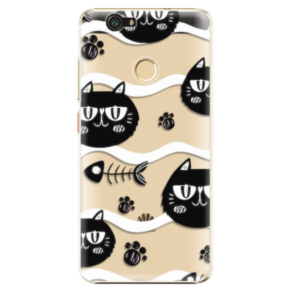Plastové pouzdro iSaprio – Cat pattern 04 – Huawei Nova Plastové pouzdro iSaprio – Cat pattern 04 – Huawei Nova