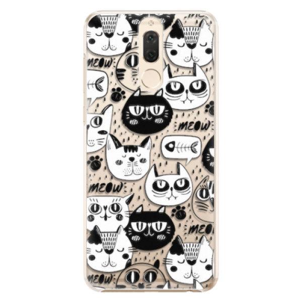 Plastové pouzdro iSaprio – Cat pattern 03 – Huawei Mate 10 Lite Plastové pouzdro iSaprio – Cat pattern 03 – Huawei Mate 10 Lite