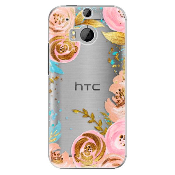 Plastové pouzdro iSaprio – Golden Youth – HTC One M8 Plastové pouzdro iSaprio – Golden Youth – HTC One M8