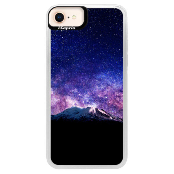 Neonové pouzdro Blue iSaprio – Milky Way – iPhone 8 Neonové pouzdro Blue iSaprio – Milky Way – iPhone 8